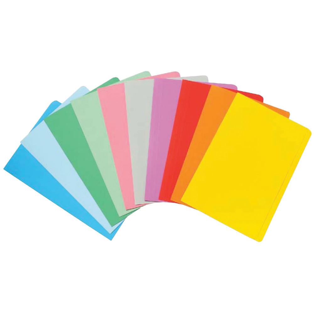 MARBIG MANILLA FOLDER F/Cap Assorted Colours