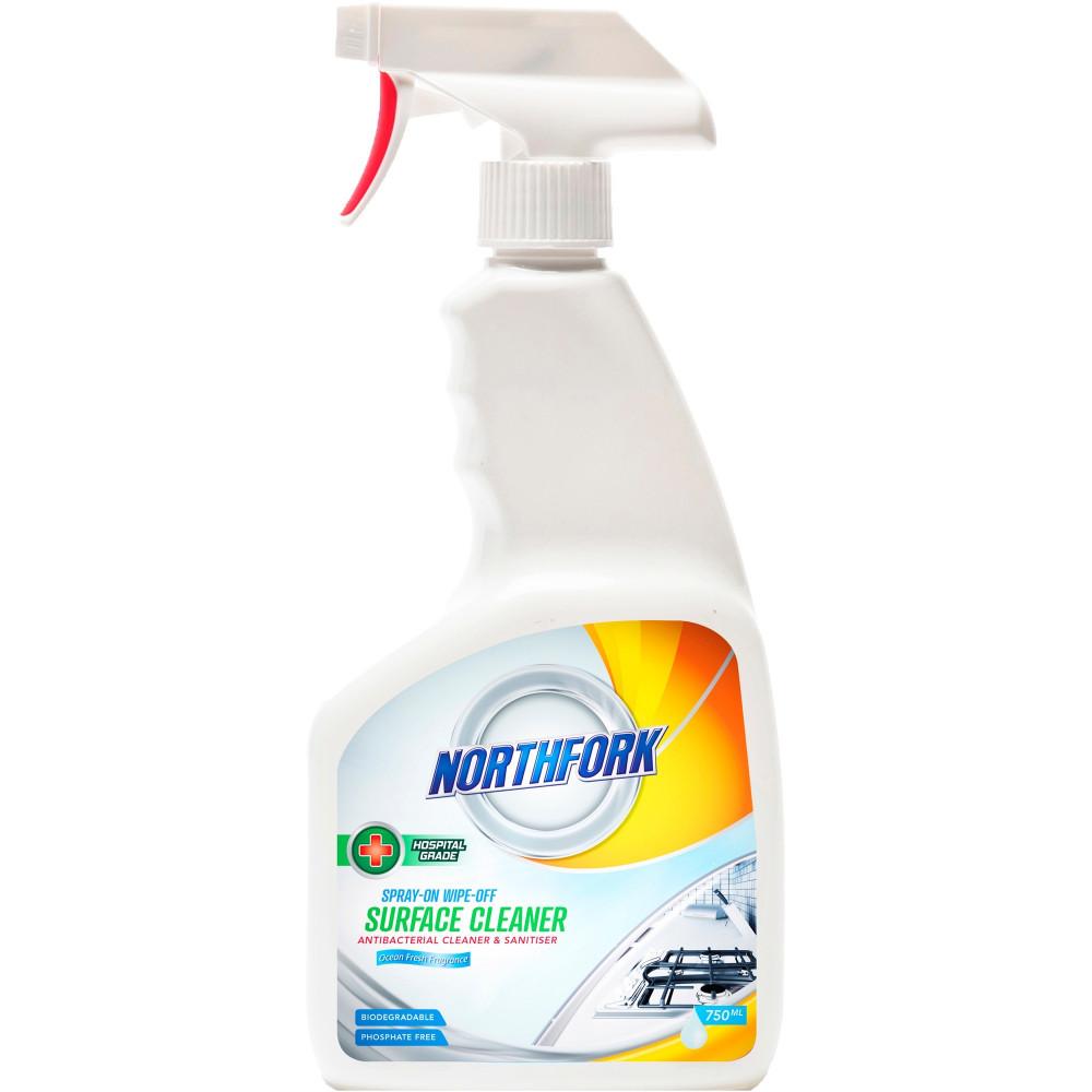 NORTHFORK SURFACE CLEANER Spray on Wipe Off 750Ml