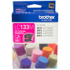 BROTHER LC133M INKJET CART Magenta 600pg