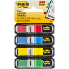 POST-IT 683-4 MINI FLAGS 9.9x43.7mm Red Blue Yellow Green 140 Pack