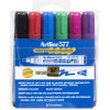 ARTLINE 577 WHITEBOARD MARKERS Drysafe Med Bullet 6 Assorted