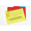 MARBIG LETTER FILE A4 With Secure Flap Assort Pk3