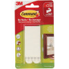 COMMAND PICTURE HANGING STRIPS Large White 4 Pairs Per Pack