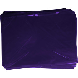 RAINBOW CELLOPHANE 750mmx1m Purple Pack of 25