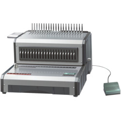 QUPA D160 COMB BINDING MACHINE Electric Punches 25sht