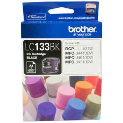 BROTHER LC133BK INKJET CART Black 600pg