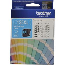 BROTHER LC135XLC INKJET CART Cyan 1200pg High Yield
