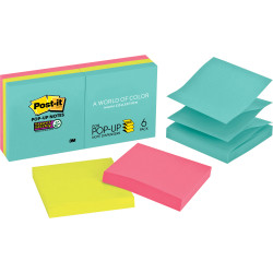 POST-IT POP UP NOTES R330-6SSMIA Miami Collection