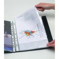 MARBIG COPYSAFE SHEET PROTECTR H/Duty A4  Ultra Clear Bx100
