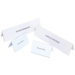REXEL NAME PLATES Small 92x56mm