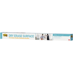 POST IT DRY ERASE SURFACE DEF4X3 1200x900mm Whiteboard surface on a roll