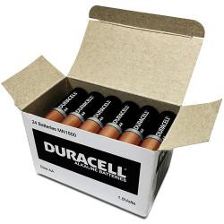 DURACELL COPPERTOP BATTERY AA Bulk Pack Box of 24