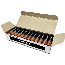 DURACELL COPPERTOP BATTERY AAA Bulk Pack Box of 24