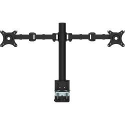 Rapidline Revolve Monitor Arm Dual 408mm H Central Pole 425mm Arm Reach