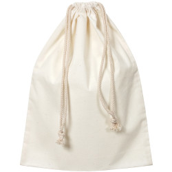 Zart Calico Library Bag With Drawstring 33x44cm Beige Pack of 10