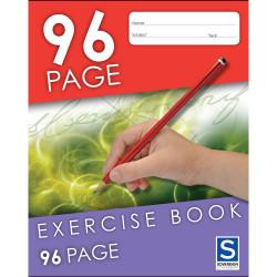 Sovereign 225x175 Exercise Books 8mm 96pg