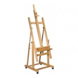 M.M. TILTING STUDIO EASEL BEECH WOOD