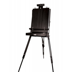 MM BLACK FRENCH BOX EASEL